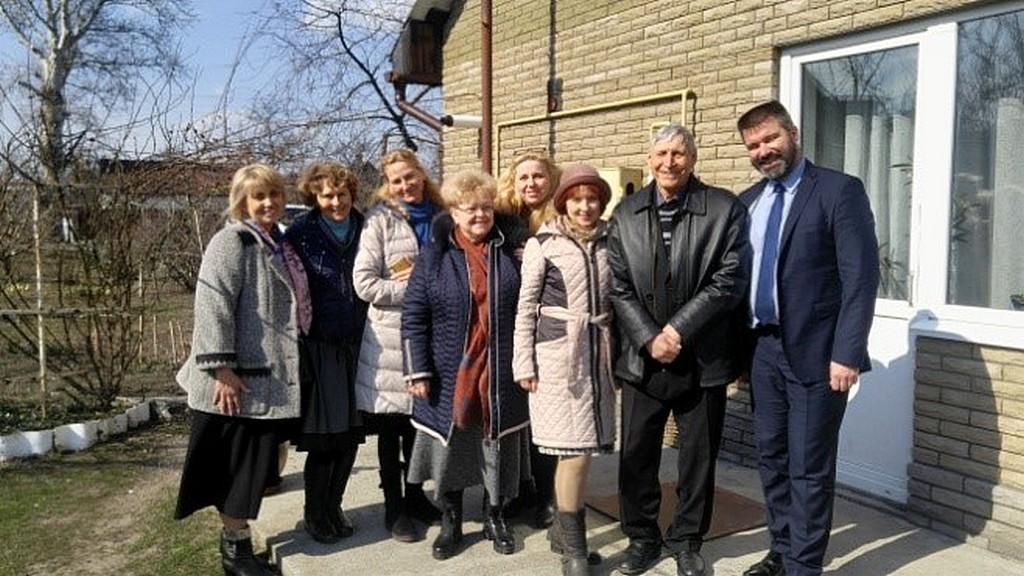 Братья и сестры из Днепра провели служение Горяновском доме милосердия