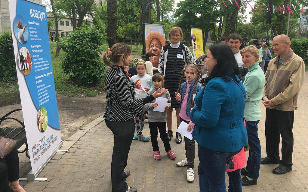 70 человек прошли программу Выставки Здоровья в Балаклее