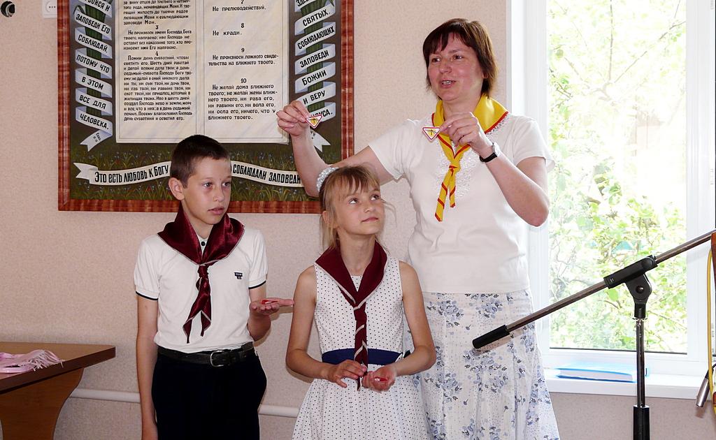 Церковь города Покров заботится о детях