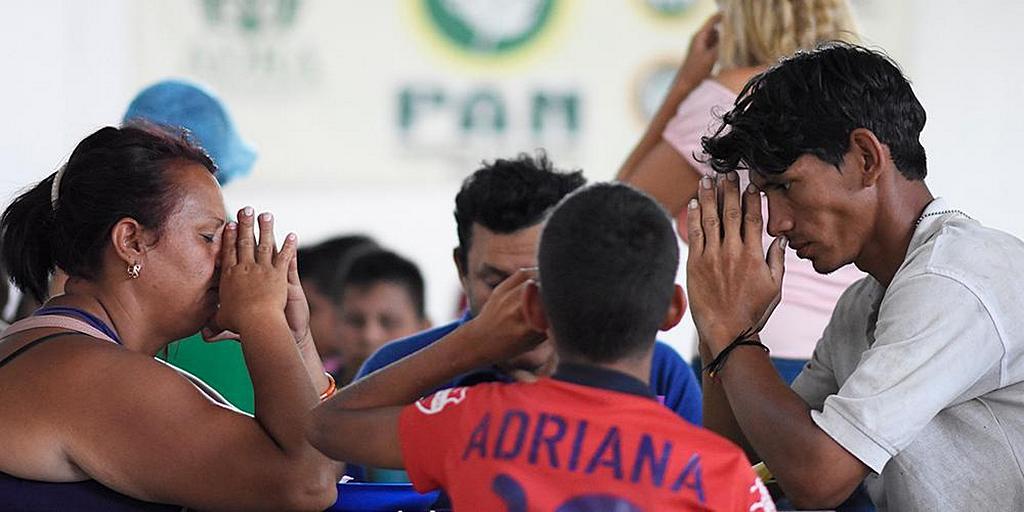 Адвентистская церковь кормит сотни венесуэльских мигрантов в Колумбии