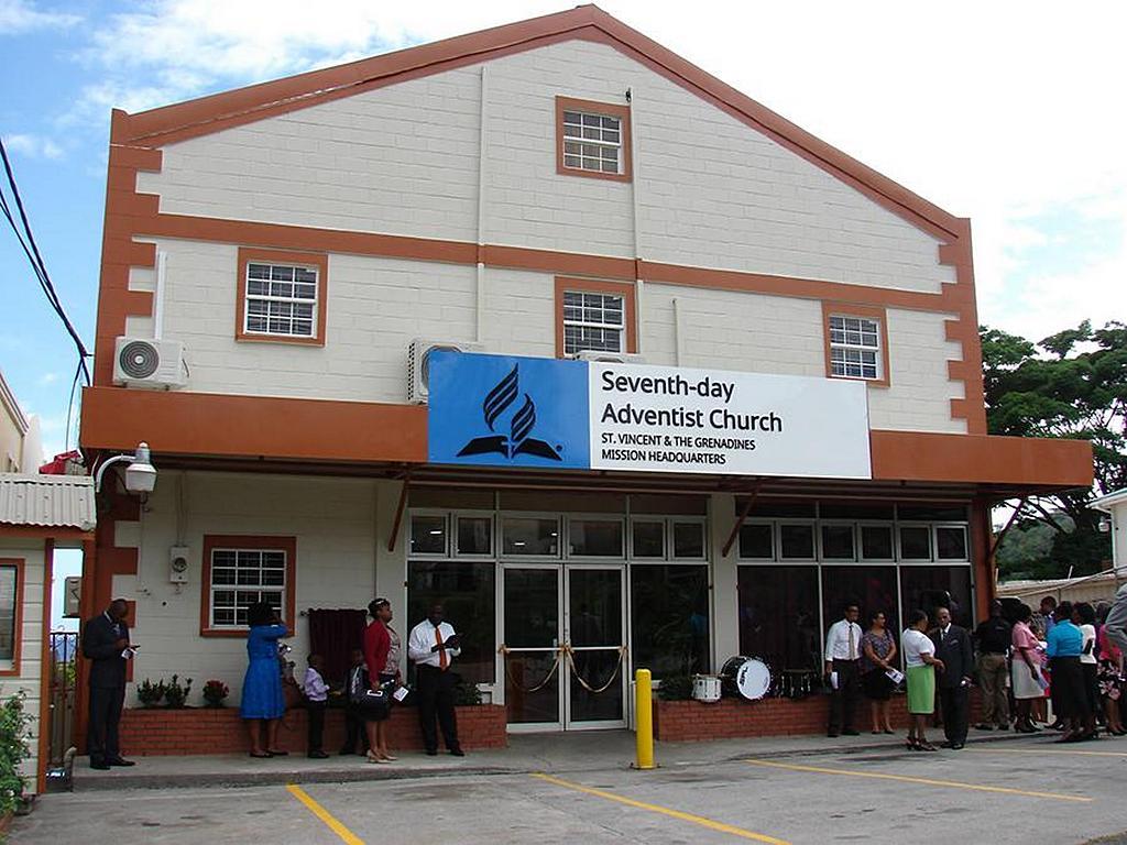 Недавно купленное и отремонтированное здание, который будет служить штаб-квартирой миссии Сент-Винсент и Гренадины. [Фото: миссия Сент-Винсент и Гренадины]