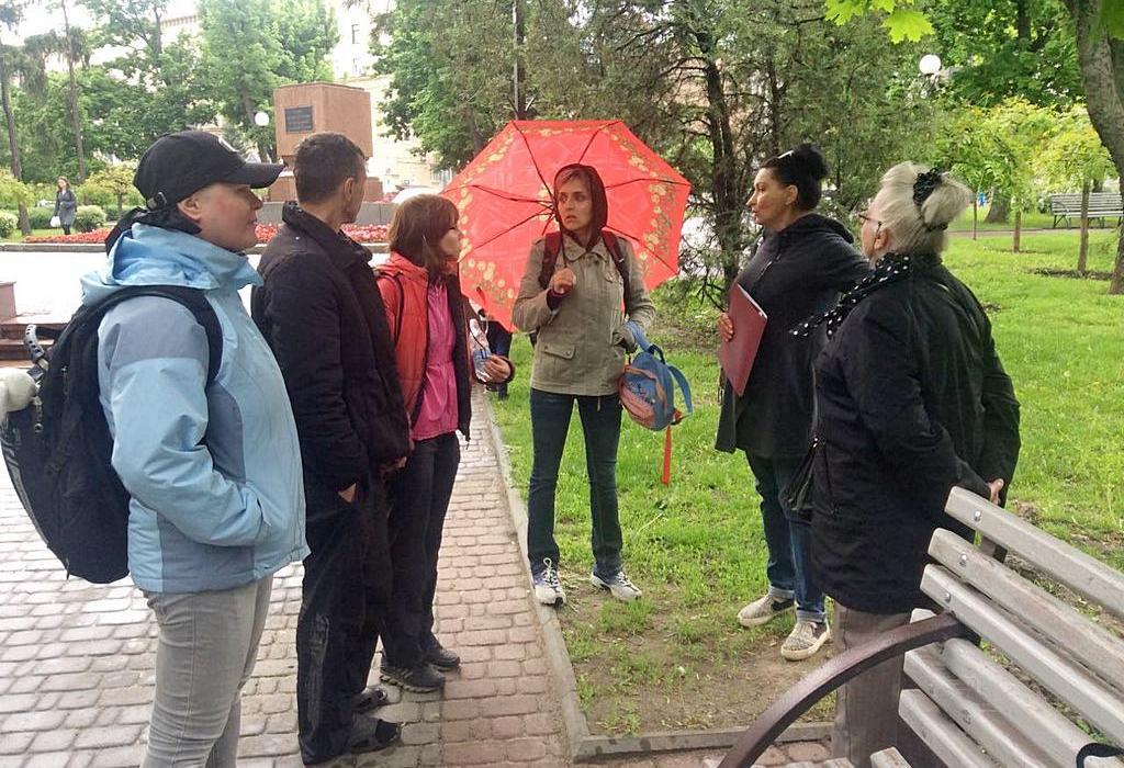 Харьковчане провели благотворительную экскурсию по городу