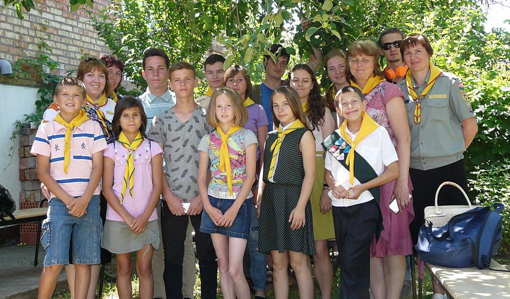 Следопытский клуб «Маяк» из города Покров отметил свое первое десятилетие