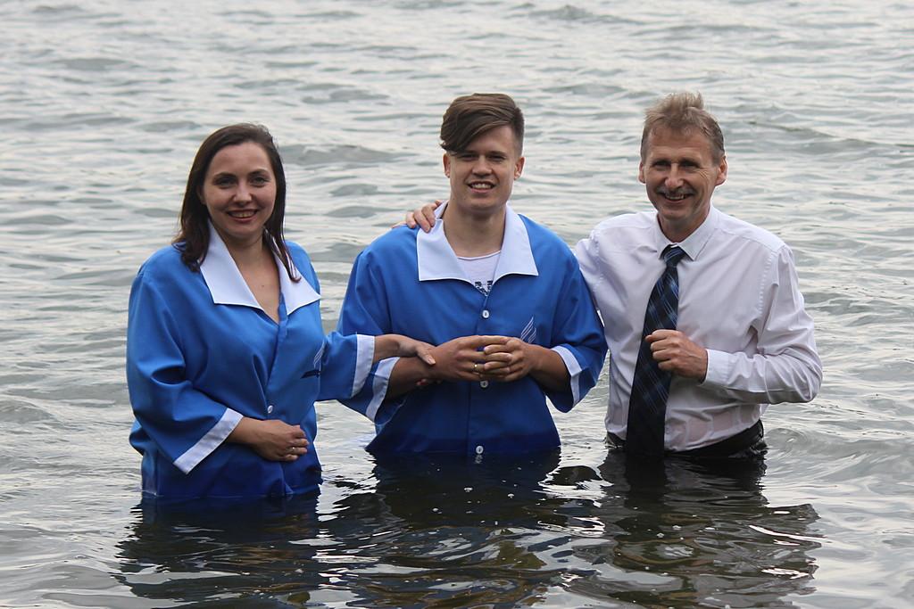 День Образования в Днепре завершился крещением