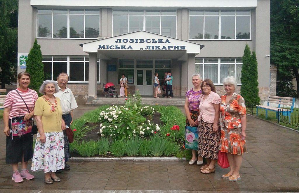 Адвентисты Лозовой молятся и поддерживают пациентов местной больницы