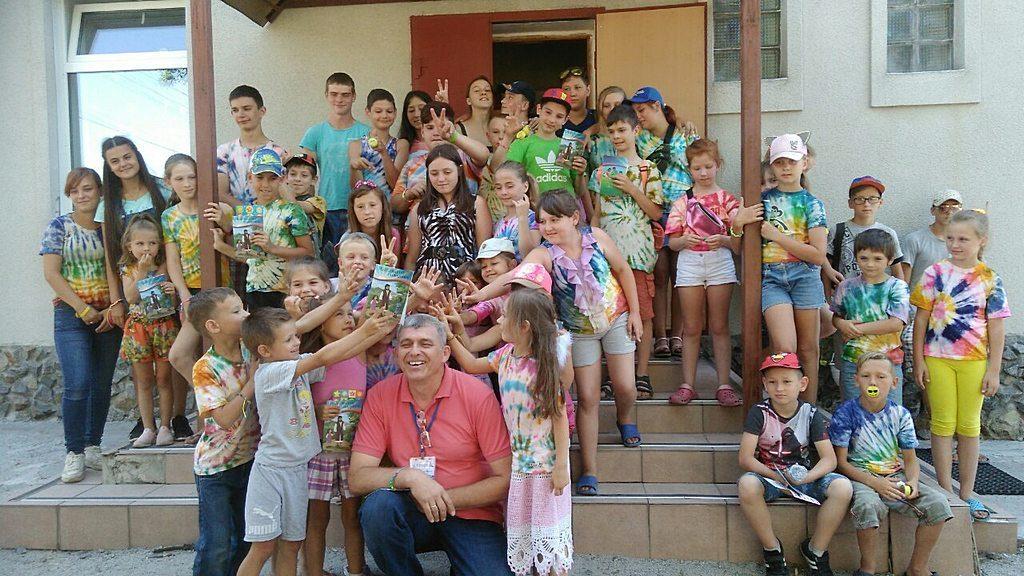 Десятую юбилейную каникулярную школу провели в 8 общине Днепра