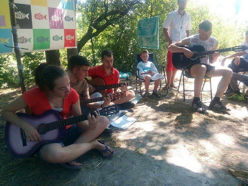 """Харьковчане провели подростковый лагерь """"Фишка"""""""