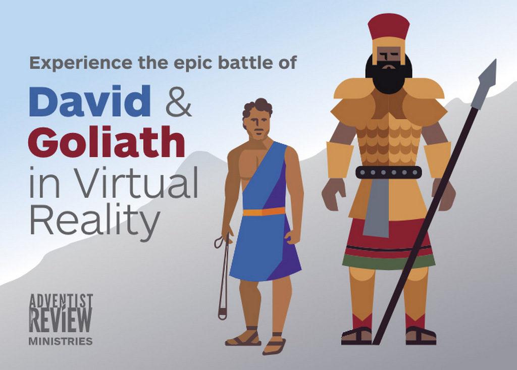 В Ошкоше виртуальный опыт Давида и Голиафа, и значки!