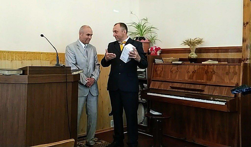 В двух Криворожских общинах представлен новый пастор