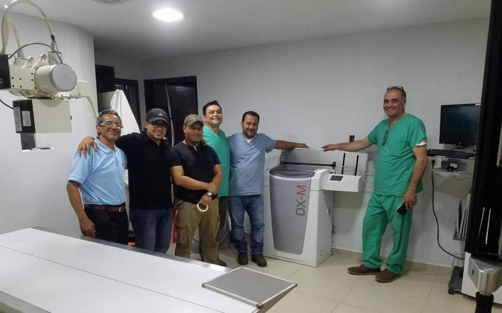 Глобальная программа AdventHealth Impact помогла доставить и установить рентгеновский аппарат для больницы Adventista Valle de Ángeles в Гондурасе. [Фото: AdventHealth]