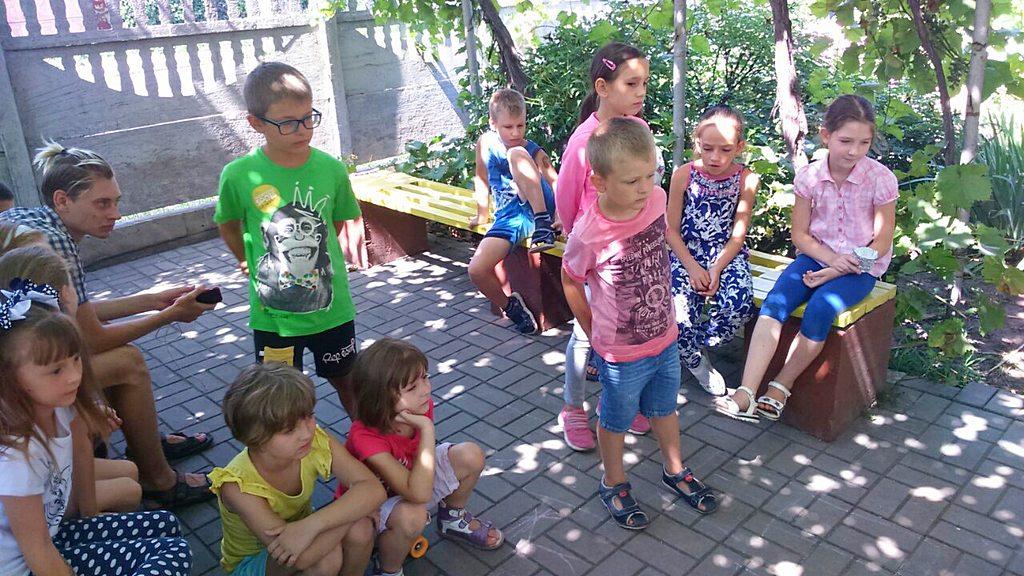Занятия и игры во дворе