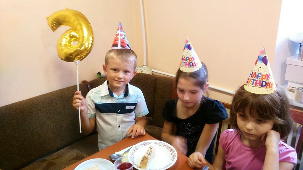 День рождения Вовы Лядского