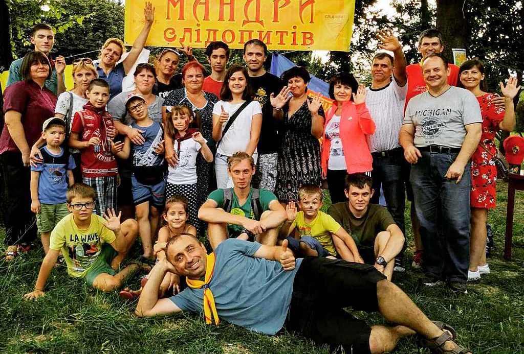 Счастливая команда организаторов