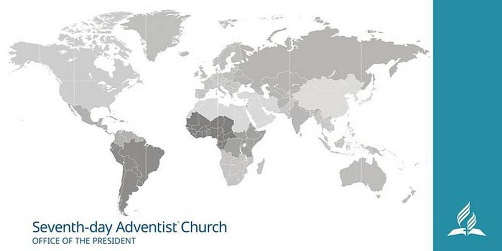 Президент Церкви адвентистов седьмого дня вдохновляет членов Церкви в Бурунди