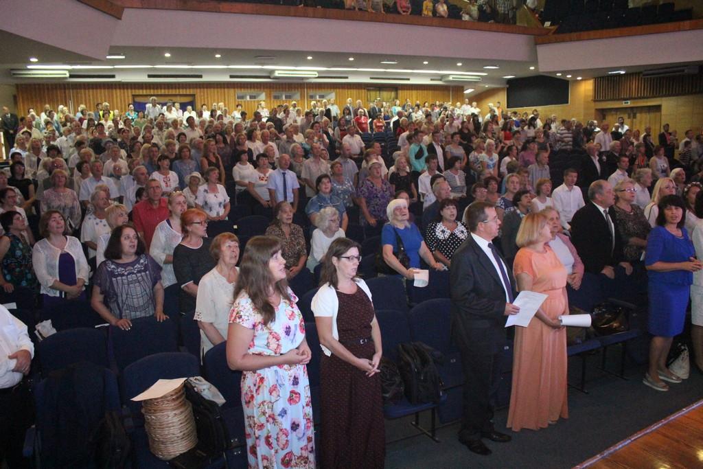В Днепре прошел миссионерский конгресс «Посвящение для миссии» общин Днепра и области
