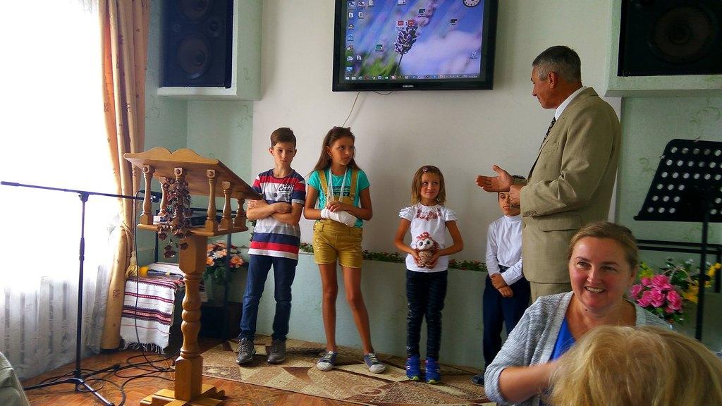 Специальное служение прошло в Богодуховской церкви