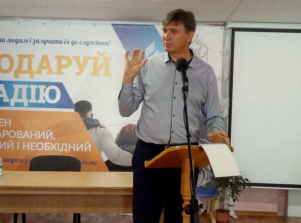 Олександр Слюсарський, координатор служіння глухим адвентистської церкви в Україні