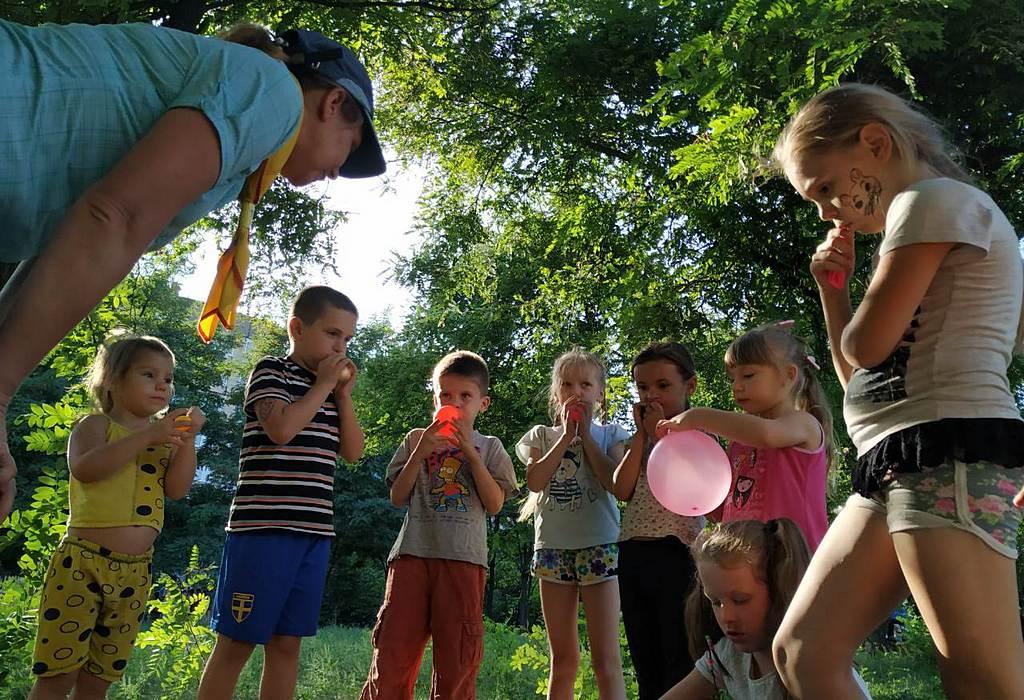 Северные Криворожские общины 3 и 6 организовали и провели детскую познавательно-развлекательную программу «Мандри Слiдопитiв»
