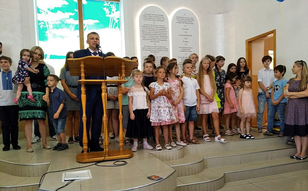 Неделя семьи прошла в двух Днепровских общинах
