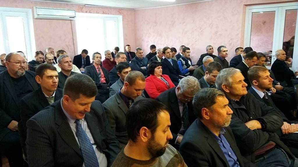 Річна нарада Східно-дніпровської конференції відбулась у Новомосковську