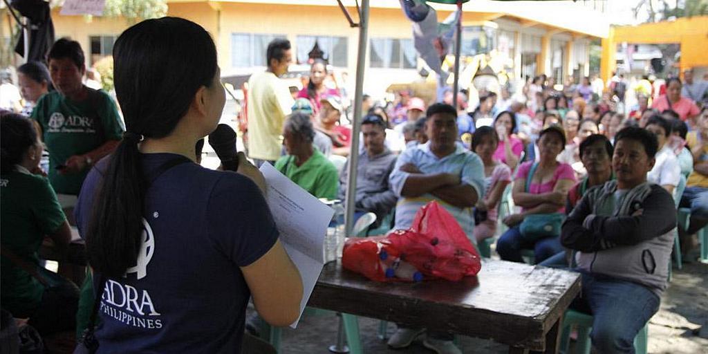 ADRA на Филиппинах готовится к распределению помощи после землетрясения в провинции Котабато. [Фото: ADRA Филиппины]