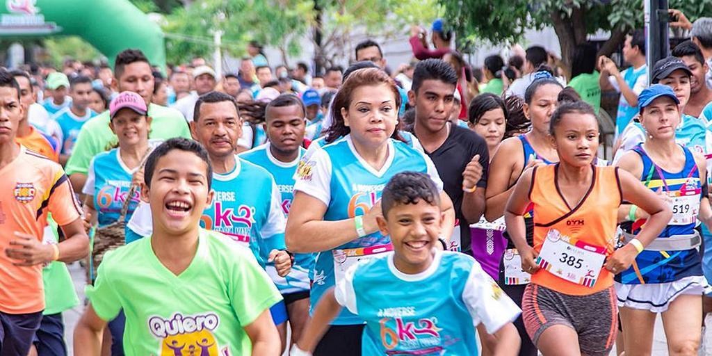 В Колумбии сотни людей участвовали в забегах, организованных адвентистами