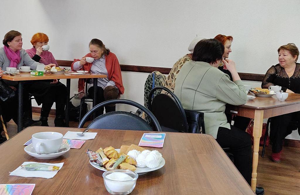 2 декабря в адвентистской общине города Краматорск прошла встреча «За чашкой чая»