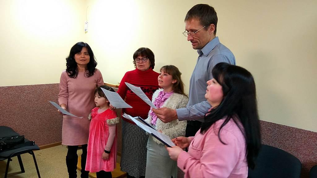 Дергачевская церковь посвятила Господу молитвенный зал