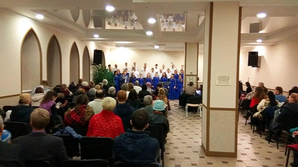 Миссионерский концерт хоровой музыки