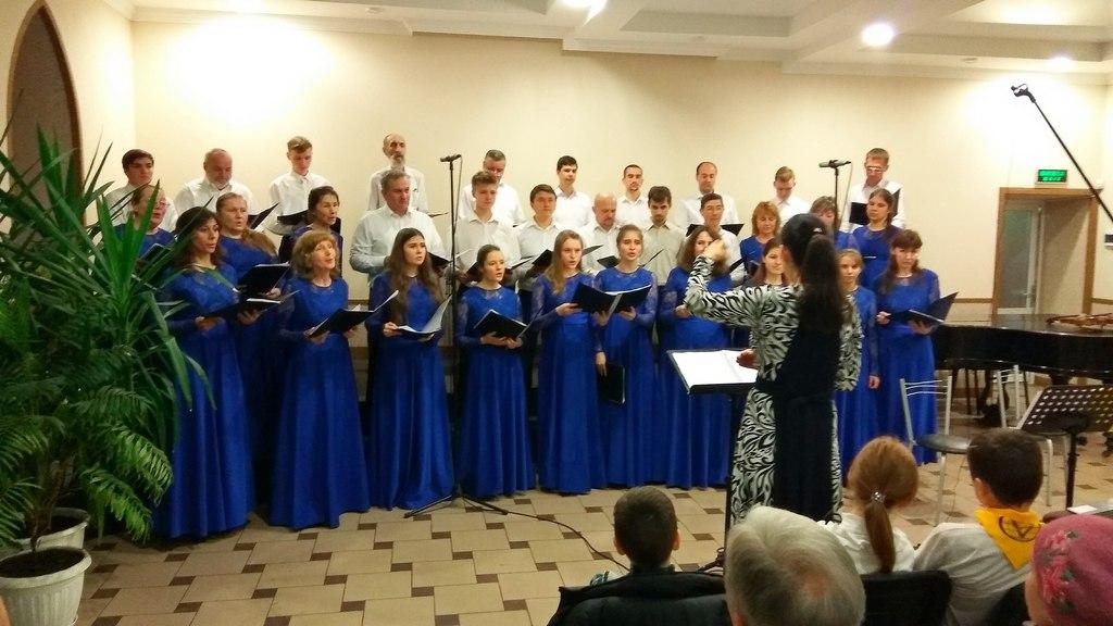 Харьковский гордской хор под управлением Юлии Лариной