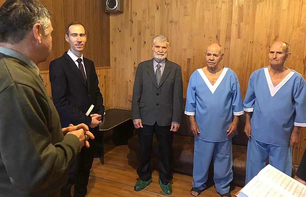 Обряд крещения состоялся в Краматорске
