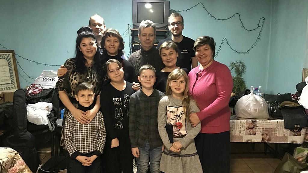 7 община Днепра в Горяновке