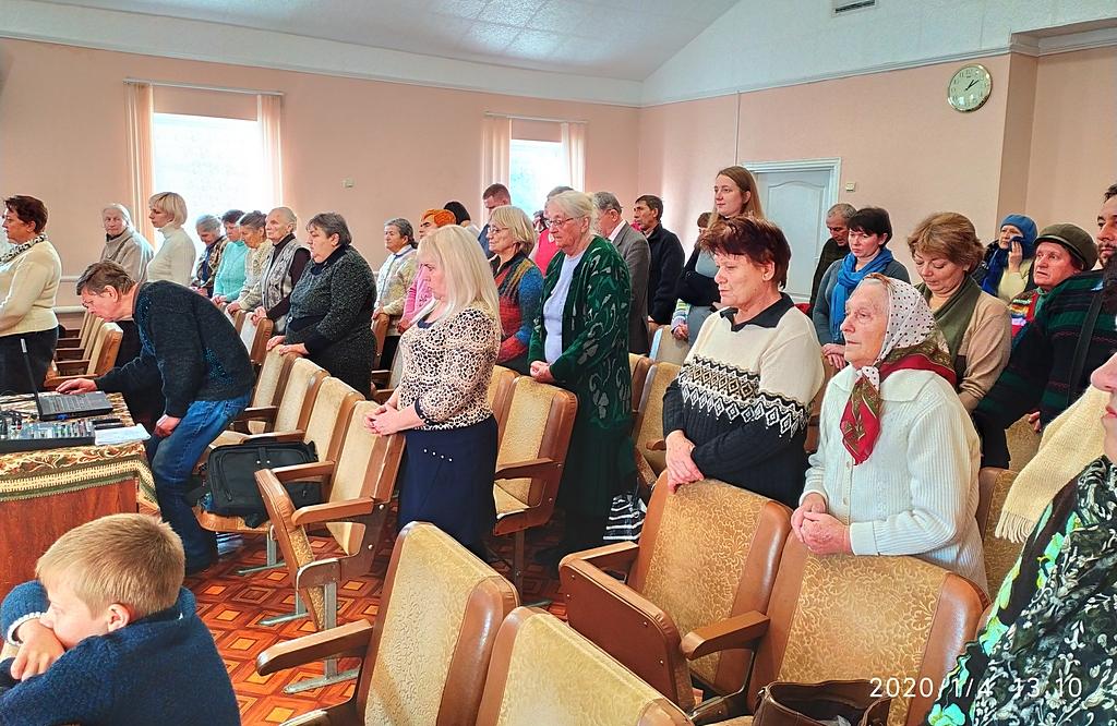 Особенное служение состоялось в Бердянской церкви
