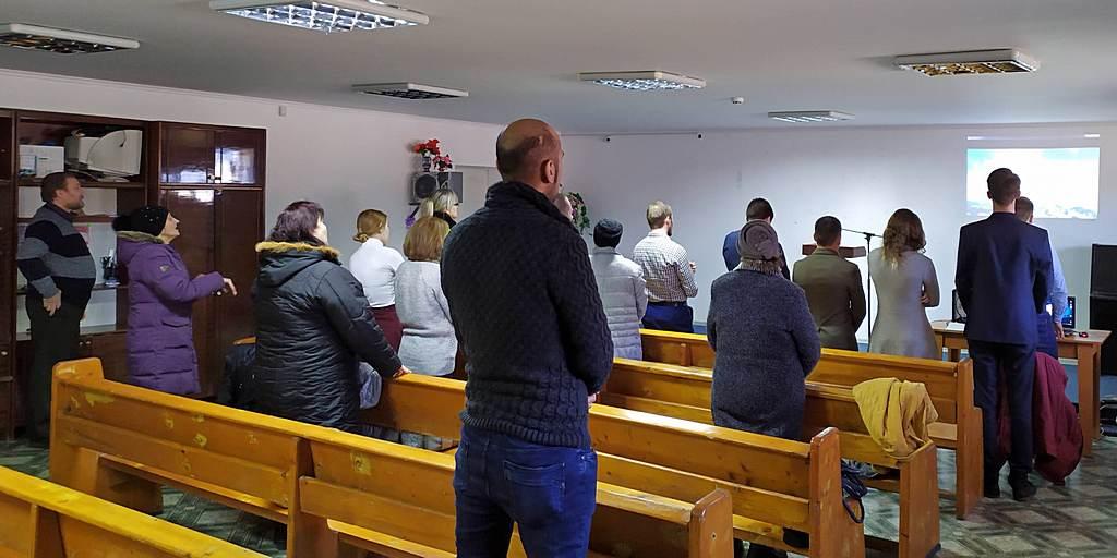 Криворожская молодежь в дни Рождественских праздников провела служение, прославляющее Бога