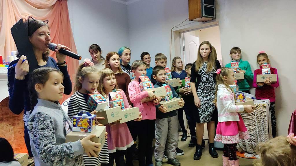 """В городе Славянск прошла детская программа под названием """"В гостях у Иисуса"""""""