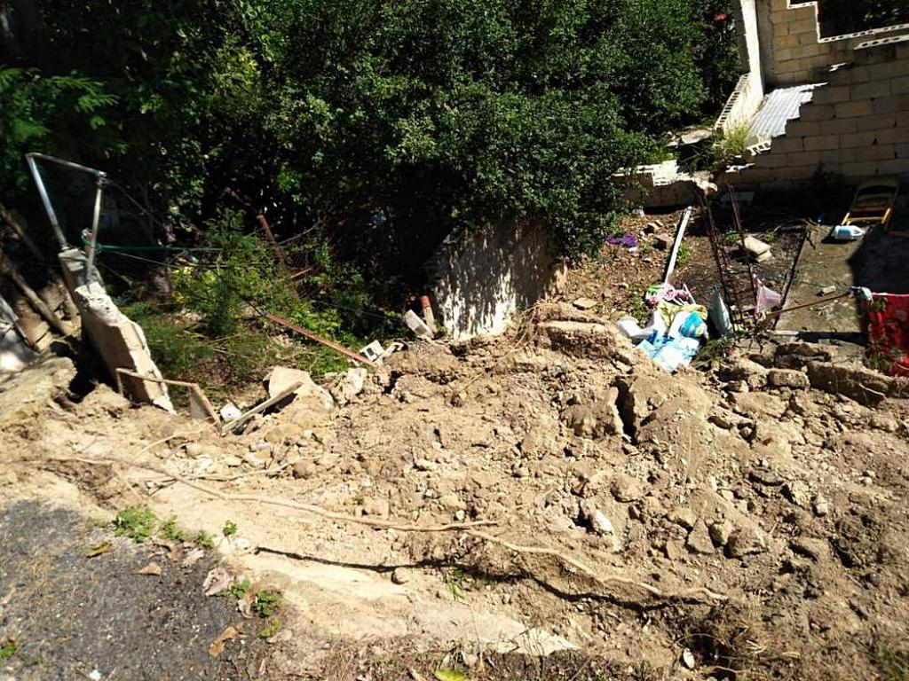 Разрушенное сооружение после землетрясения силой 6,4 балла 7 января 2020 года. Эпицентр находился в 8 км к югу от Индиоса, Пуэрто-Рико. [Фото: Леонель Эскобалес, Конференция Южного Пуэрто-Рико]