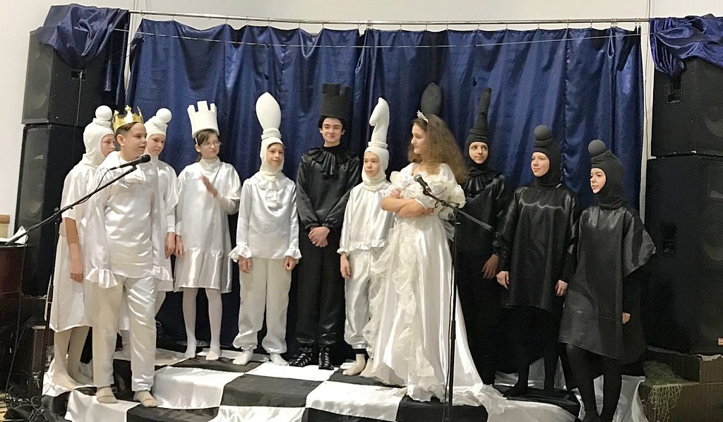 Дитячу виставу «Тайна різдвяної зірки» зіграли у Харкові