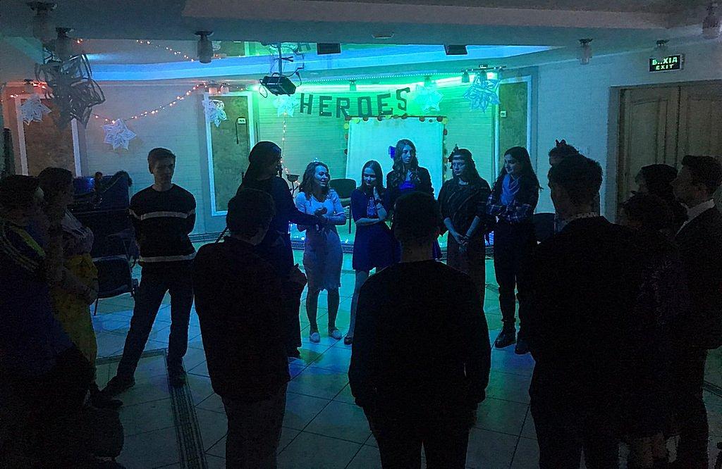 Харьковская молодежь перед новым годом провела молодежную встречу