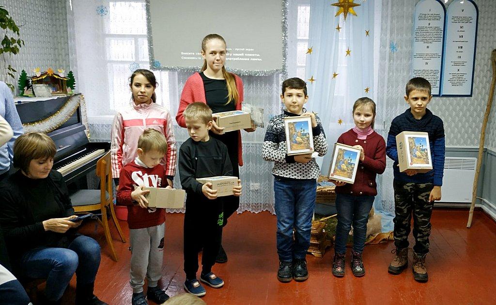 Адвентисты Беловодска рассказали детям историю Рождества