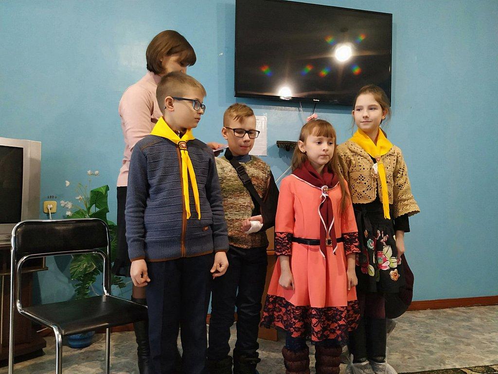 Следопыты Кривого Рога посетили с программой дом милосердия