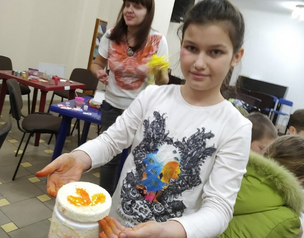 Харьковская церковь в районе ХТЗ проводит для ребят занятия детского клуба
