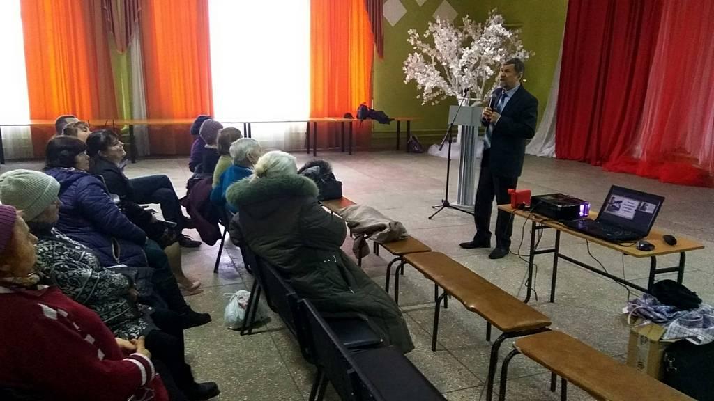 Церковь в городе Дергачи готовится к весенней евангелизации