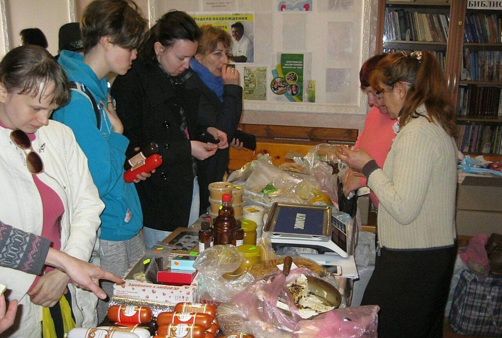 Стол заказов продуктов здорового питания работает в Запорожье