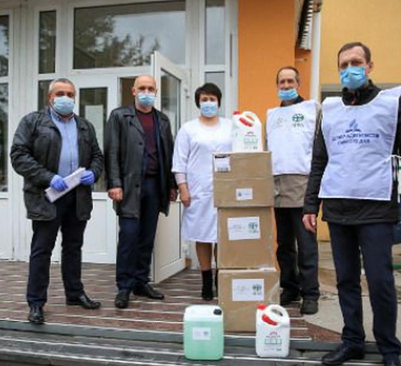 Адвентисти і мормони надали 95 000 грн. допомоги лікарням Вінниччини