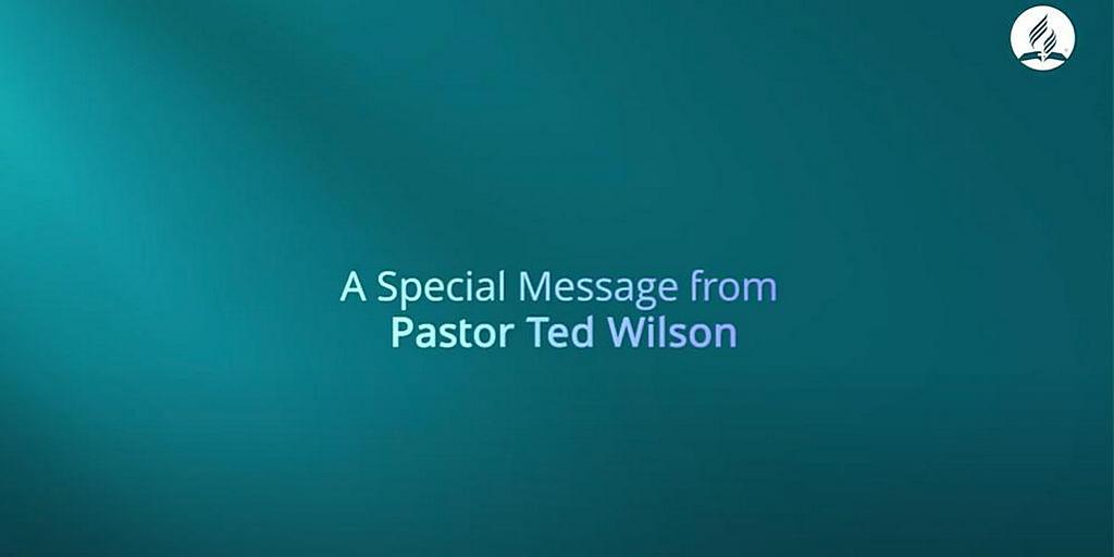 Пастор Тед Вильсон: служение Христа в небесном святилище