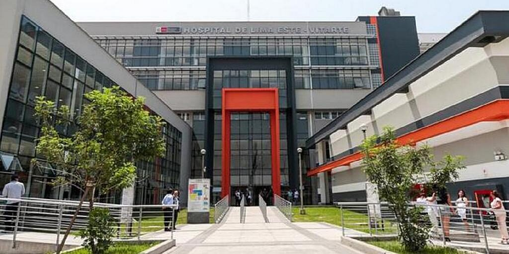 Больница скорой помощи Ate Vitarte, выбранная правительством Перу для оказания медицинской помощи наиболее тяжелым пациентам, инфицированным COVID-19. [Фото: любезно предоставлено правительством Перу]