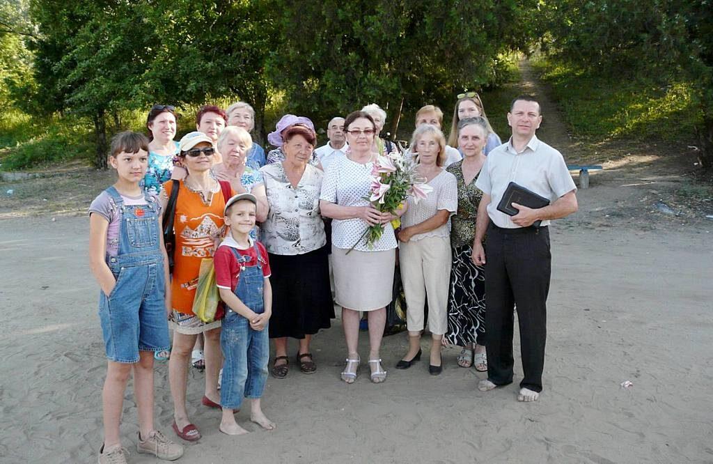 В городе Покров состоялось крещение