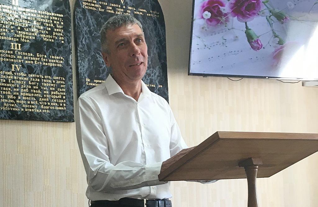 Тимофей Кирдан прощается с общиной
