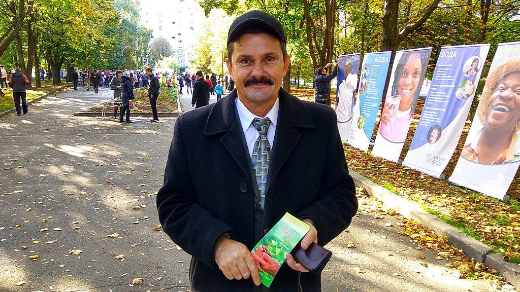 Геннадий на программе Выставка Здоровья в Желтых Водах