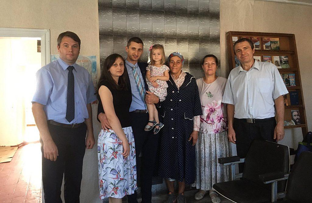 Встреча с активом церкви в Новониколаевке